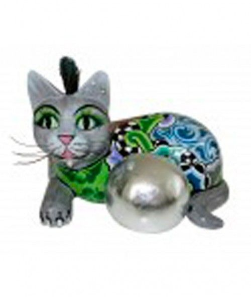 CAT-BALL-SILVER-M