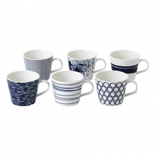 PACIFIC SET DE 6 MUG ROYAL DOULTON