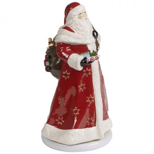 Santa Claus musical Villeroy & Boch
