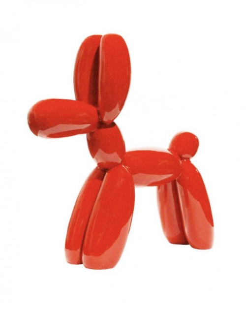 juliani mo balloon dog red