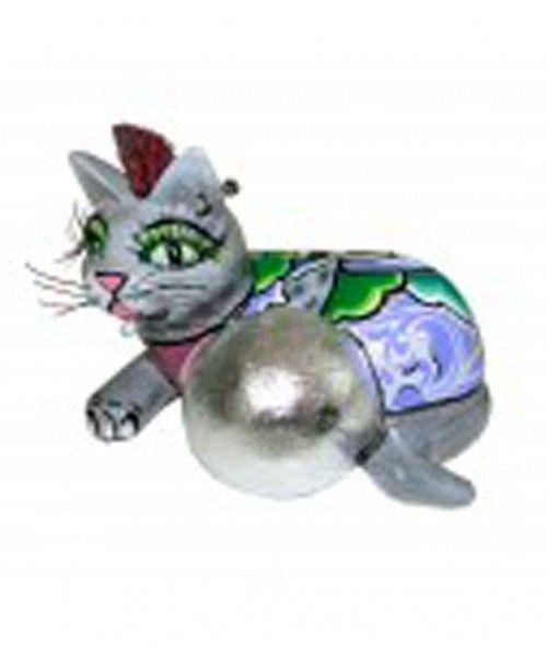 CAT-BALL-SILVER-L