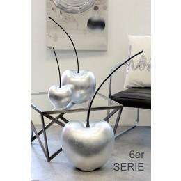 porcelain silver cherry