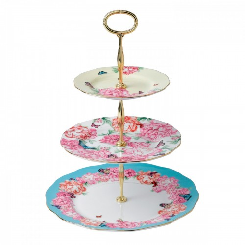 CAKE STAND THREE MIRANDA KEER ROYAL ALBERT
