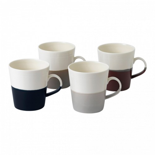 COFFEE STUDIO SET 4 MUGS ROYAL DOULTON