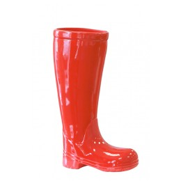 red umbrella boots