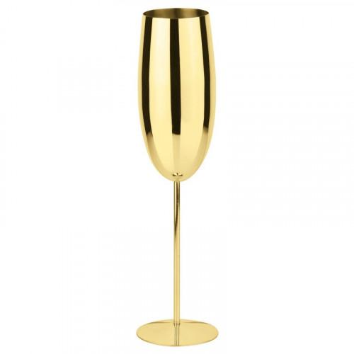cava glass sambonet gold