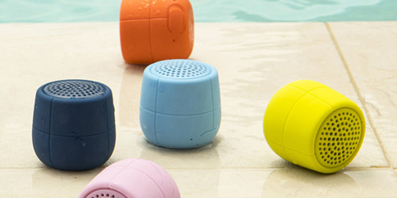 Fill your summer with music with designer speakers